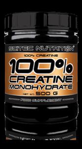 100% creatine monohydrate (Scitec nutrition)