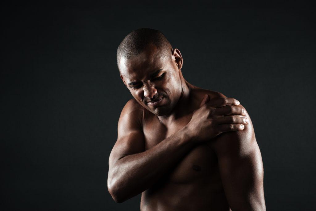 Je kan last krijgen van spierpijn als je een lange tijd niet hebt getraind