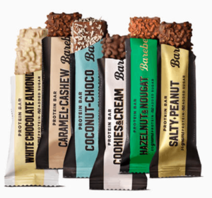 Barbells protein bars