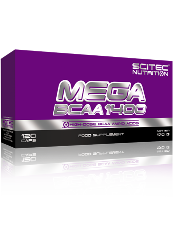 Mega bcaa 1400 (Scitec nutrition)