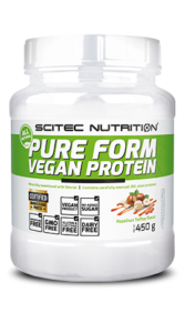 Pure form vegan protein (Scitec nutrition)